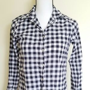 J. Crew Gingham Buttondown